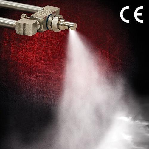 Spritzdüse / Luft / für Flüssigkeiten / Flachstrahl