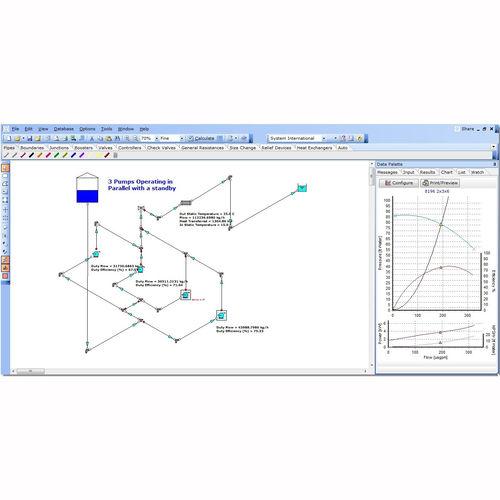 Software zur Berechnung des Druckverlustes / Simulations für Strömungsmechanik / für Projektentwicklung / Optimierung