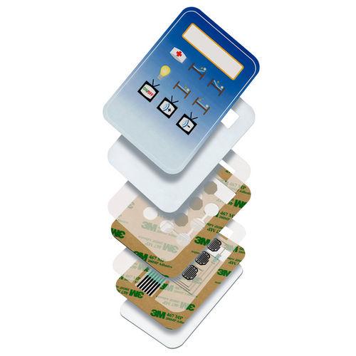 doppelseitiges Klebeband / aus Acryl / Polyester / für elektrische Anwendungen