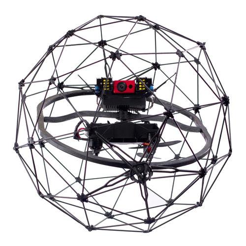 Kollisionsresistenter Drohne / vierrotorig / zur Inspektion / für Industrieanwendungen ELIOS Flyability
