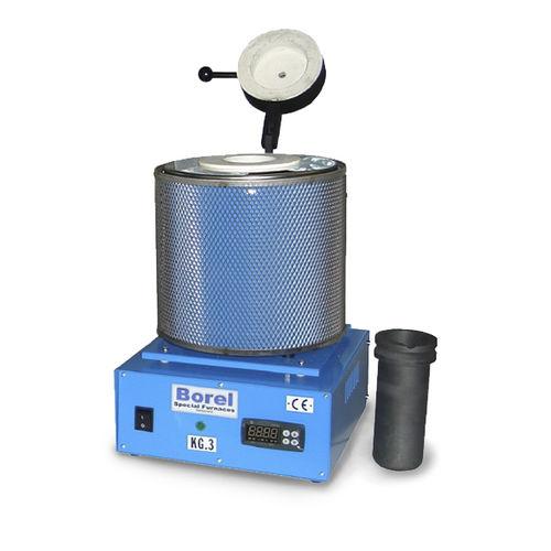Schmelzofen / Rohr / elektrisch / Labor