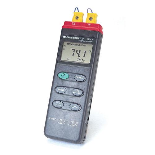 Thermometer mit Thermoelement / digital / tragbar / mit Datenerfassung