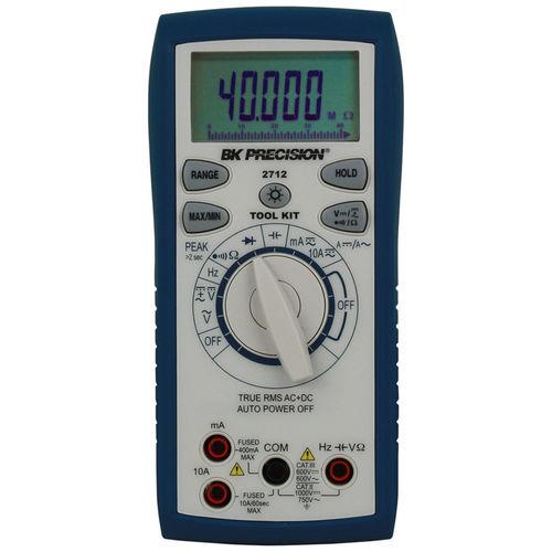 digitales Multimeter / tragbar / 1000 V / 10 A