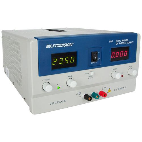 AC/DC-Stromversorgung / Doppelausgang / einstellbar / geräuscharm