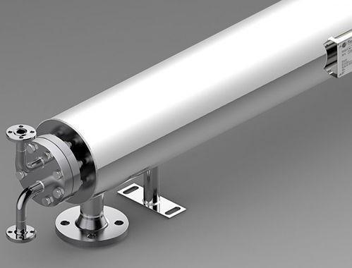Rohrbündel Wärmetauscher / steril / für Industrieanwendungen