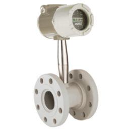 Vortex-Durchflussmesser / Massen / volumetrisch / für Flüssigkeiten