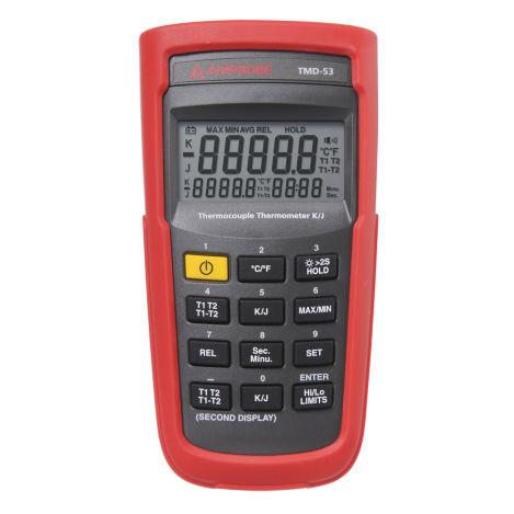 Fühler-Thermometer / digital / tragbar / 2-Kanal