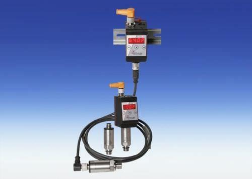Druckschalter für Wasser / Membran / kompakt / mit Digitalanzeige