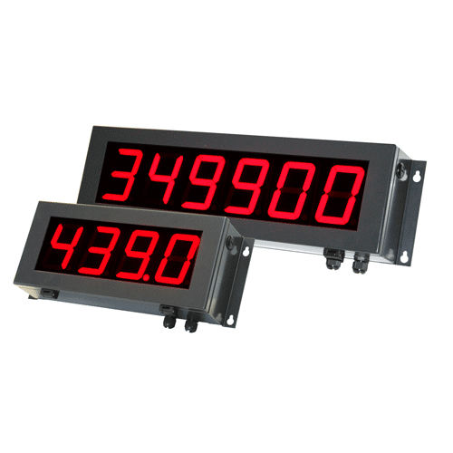 LED-Display / großformatig / 4-stellig / 6-stellig