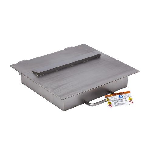 Magnetplattenabscheider / für Flüssigkeiten / Trockenmaterialien / Permanentmagnet