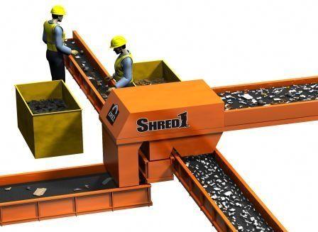 ECS-Abscheider / Wirbelstrom / Metall / zur Abwasserbehandlung SHRED1 BALLISTIC™ ERIEZ