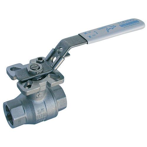 Gewindeventil / Kugel / manuell / für Gas