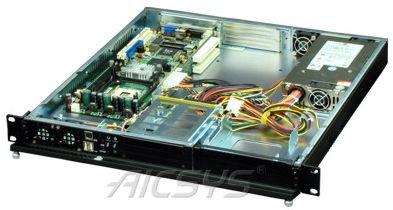 rackfähiger PC-Abdeckung / 1U / für Backplanes / für Mini-motherboard ITX