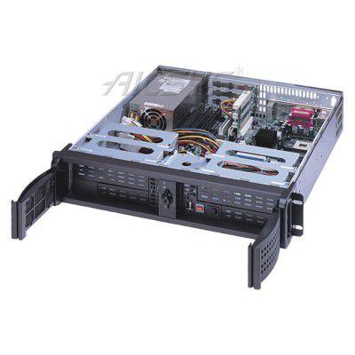 PC-Abdeckung / Benchtop / rackfähig / 2U / für Mini-motherboard ITX RCK-204MA AICSYS Inc