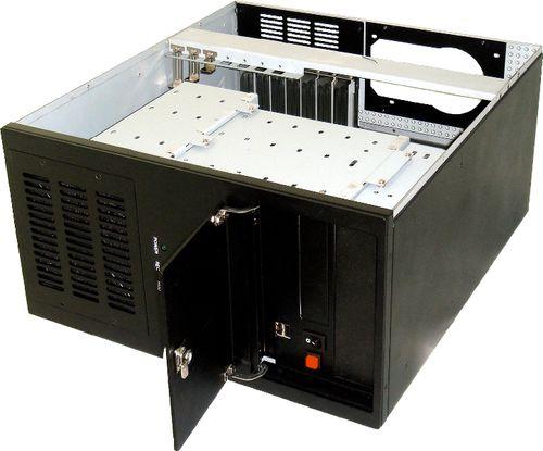 Chassis / 10 Disk-Arrays / rackfähig / DVR / für ATX-Motherboard