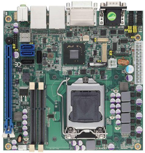 Mini-ITX-Mainboard / Intel® Core™ i Serie / Intel Q77 / DDR3 SDRAM MBC-6508 AICSYS Inc