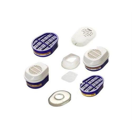 Gas-Filter / mit Sieb / für Atemschutzmasken