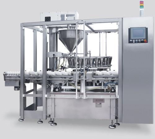 Abfüllanlage für Industrieanwendungen / für Pulver / für Glasflaschen / automatisch