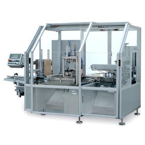 Horizontaler Kartonpacker / automatisch / für Lebensmittel / für Pharmaprodukt SMP CAM