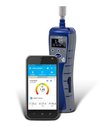 thermoelektrischer Thermoanemometer - TSI