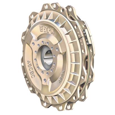Brems-Kupplungs-Kombizelle / Friktion / pneumatisch / Federdruck / für schnellzyklische Anwendung CBC series Airflex