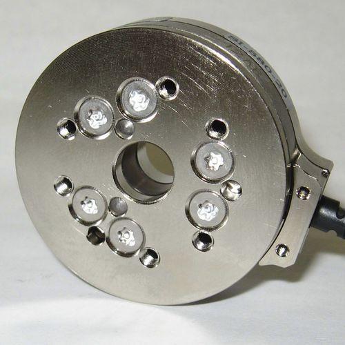 Wägezelle mit Drehmomentmessung / radiale Kraft / zylindrisch / kompakt