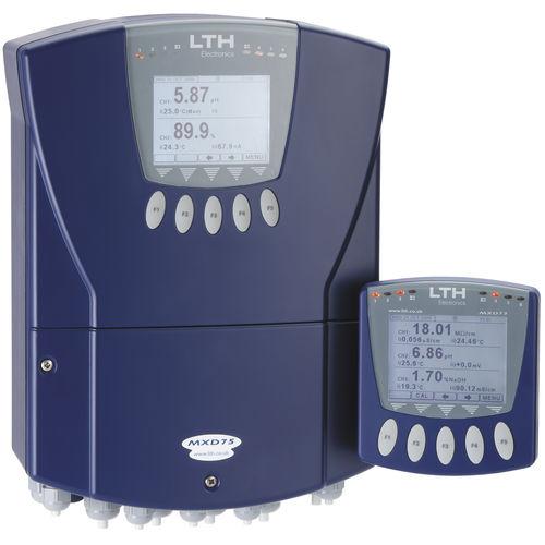 Analysator für Flüssigkeiten / TDS / Salzgehalt / Temperatur