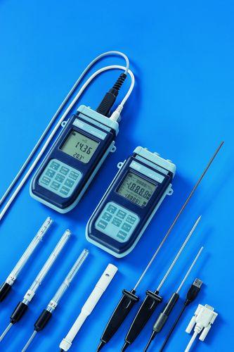 Sauerstoffanalysator / für Flüssigkeiten / pH / Konduktivität