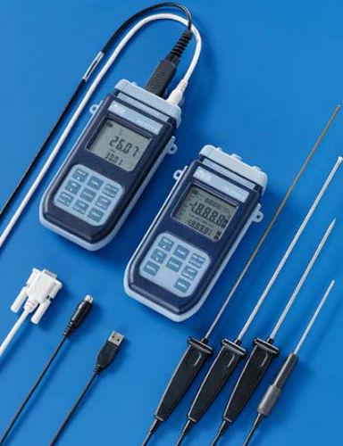 Pt1000-Thermometer / digital / tragbar / für Industrieanwendungen