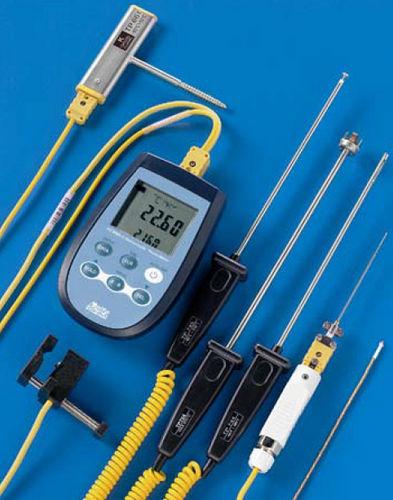Thermometer mit Thermoelement / digital / tragbar / 2-Kanal