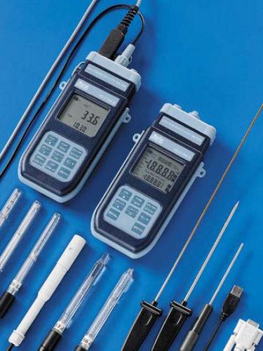pH-Messgerät / spez. Widerstand / Redox / Konduktivität