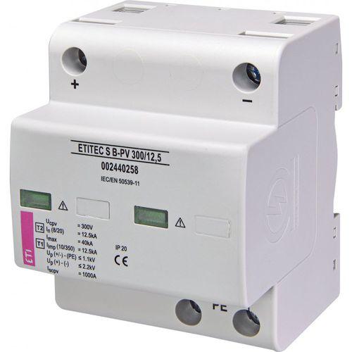 Überspannungsableiter Typ 1 / zweipolig / DIN-Schienen / für Photovoltaikanlage