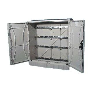 wandmontierte Steckdosenkombination / Polyester / für Verteiler / für den Außenbereich