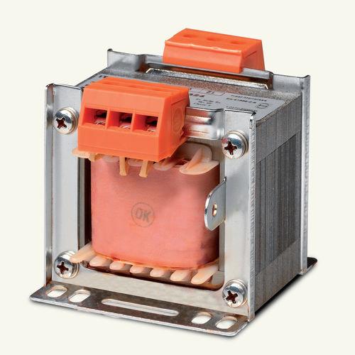 Isolationstransformator / trocken / lamellenförmig / einphasig