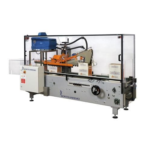 Mehrklappen--Kartonverschließer / Hotmelt-Klebstoff / automatisch