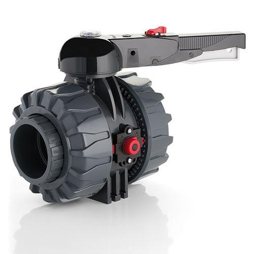 Kugelventil / Hebel / Flansch / Gewinde VKD DN 65-100 FIP - Formatura Iniezione Polimeri
