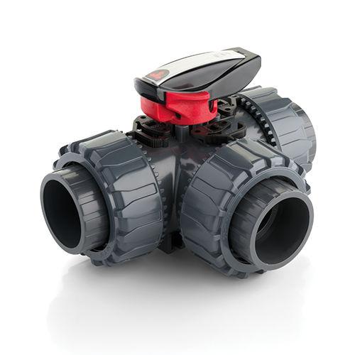 Kugelventil / manuell / Flansch / Gewinde TKD DN 10-50 FIP - Formatura Iniezione Polimeri