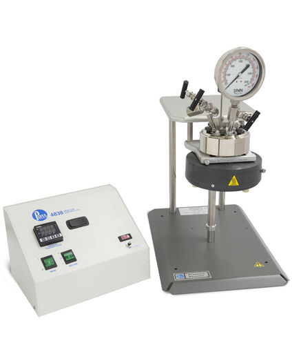 Metallbehälter / unter Druck / vertikal