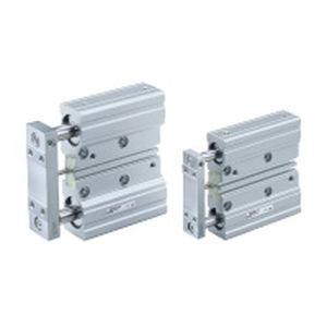 Zylinder mit geführter Kolbenstange / doppeltwirkend / Miniatur