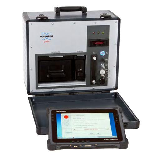 Giftgasdetektor / Sprengstoff / elektrochemisch / tragbar