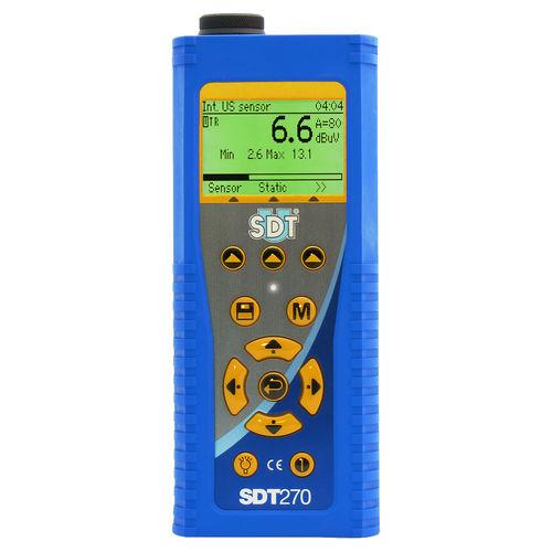 Gasleckdetektor / Ultraschall / tragbar / ex-geschützt