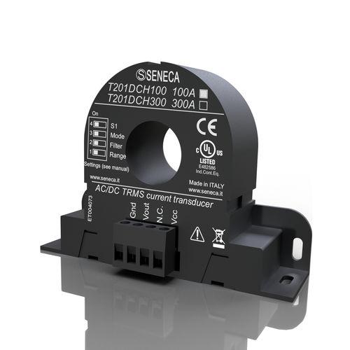 Closed-Loop-Halleffekt-Stromsensor / magnetoresistiv / DIN-Schienen / festinstalliert