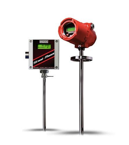 Massendurchflussmesser / thermisch / für Luft / digital