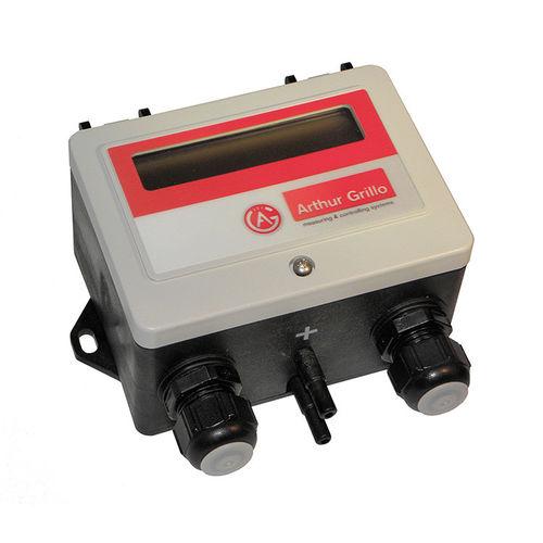 Differenzdruck-Durchflussregler / Membran / Venturi / für Luft