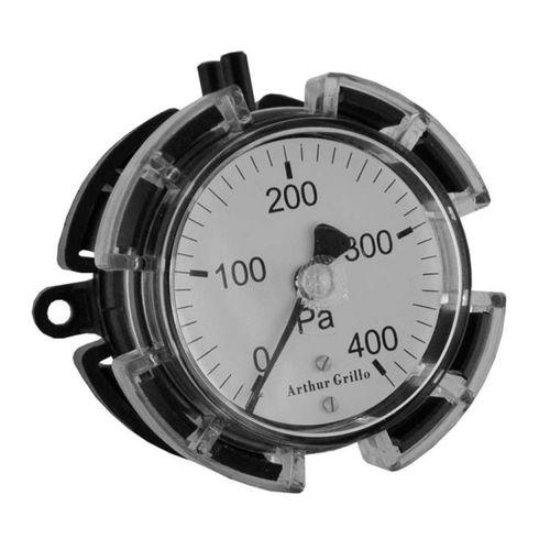 Manometer mit Zifferblatt-Anzeige / Membran / für Gas / für HLK