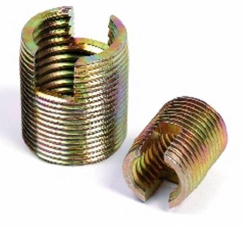 Gewindeeinsatz / selbstschneidend / Metall / rund