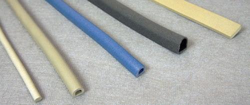 Silikonprofil / geriffelt / extrudiert / für Industrieanwendungen
