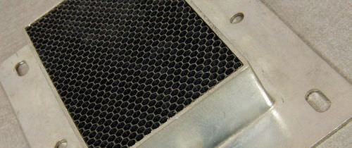 Metall-Lüftungsgitter / Waben / EMV