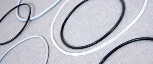Ring-Lippen-Dichtung / O-Ring / Silikon / maßgefertigt