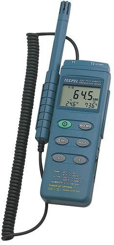 Digitales Hygrometer / tragbar / relative Luftfeuchtigkeit / für Industrieanwendungen DTM-321 Tecpel  Co., Ltd.